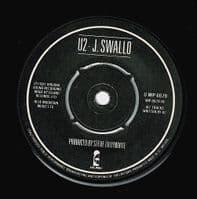 U2 Fire Vinyl Record 7 Inch Island 1981 Double Pack